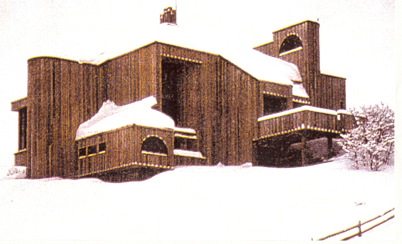 Woods Residence (with Lacayo), Aspen, Colorado.